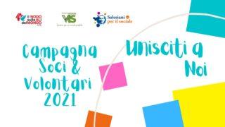 CAMPAGNA SOCI E VOLONTARI 2021